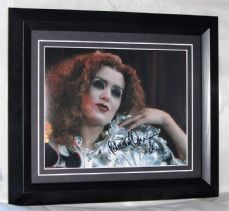 "A168PQ PATRICIA QUINN - ""ROCKY HORROR"" SIGNED"